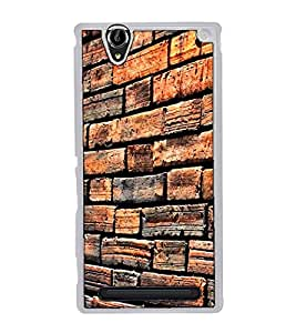 Fuson Designer Back Case Cover for Sony Xperia T2 Ultra :: Sony Xperia T2 Ultra Dual SIM D5322 :: Sony Xperia T2 Ultra XM50h (House Home Residence Shop Indian Village)