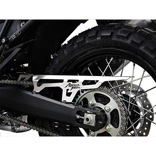 Preisvergleich Produktbild Honda CRF 1000 L Africa Twin BJ 2016-18 Kettenschutz Kettenabschirmung Logo silber IBEX