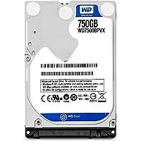 WD WD7500BPVX Blu Hard Disk Mobile da 750 GB, 5400 RPM, SATA 6 GB/s, 2.5