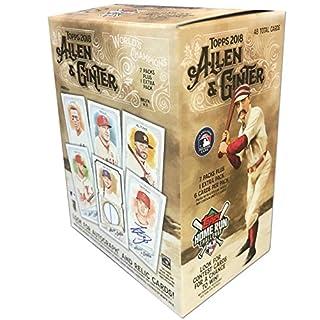 Topps 2018 Allen & Ginter Baseball Retail Mass Value Box