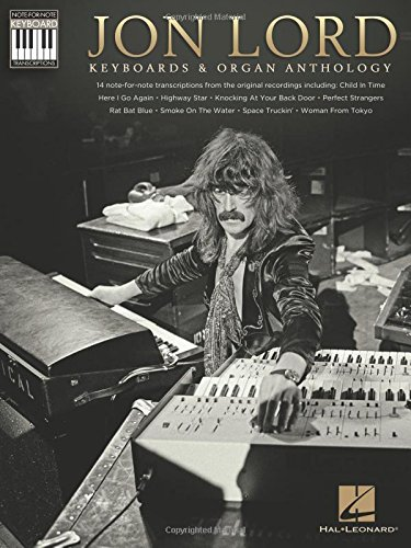Jon Lord: Keyboards & Organ Anthology - Keyboard Recorded Versions