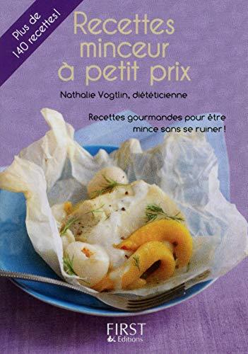 Petit Livre de - Recettes minceur à petit prix par Nathalie Vogtlin