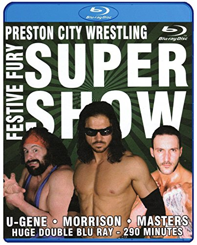 PCW - PRESTON CITY WRESTLING - Festive Fury Supershow 2012 2x BLU-RAY