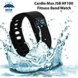 Cardio Max JSB HF100 Fitness Band Watch for iPhone and Android Smartphones