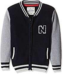 Nauti Nati Baby Boys Jacket (NAW15-482_Blue_12-18 months)