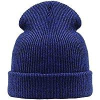 HAOLIEQUAN Moda Cappelli Invernali A Maglia Donna Spessa Caldo Uomo Unisex  Maglia Cappelli Invernali Femmina Maschio 0e55333af06a