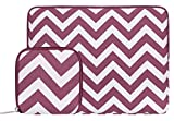 MOSISO Housse Compatible 11-11,6 Pouces Macbook Air, Ultrabook Netbook, Chevron Style...