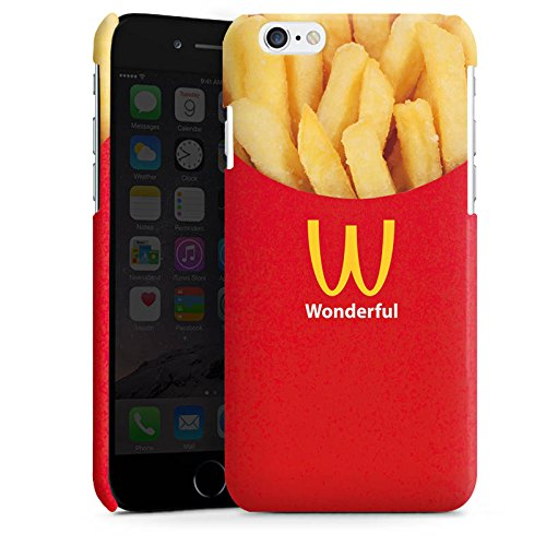 Apple iPhone 5s Housse Outdoor Étui militaire Coque Pommes Fast Food Frites Cas Premium brillant