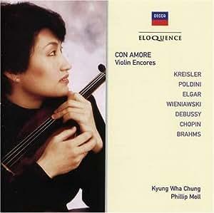 Con Amore - Violin Encores