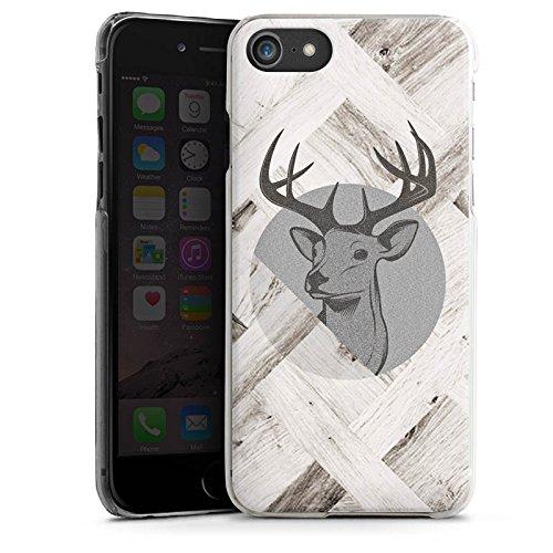 Apple iPhone 6 Plus Silikon Hülle Case Schutzhülle Hirsch Holz Wald Hard Case transparent