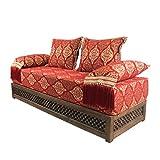 Casa Moro Oriental sofá marroquí, Asiento cojín Asiento, Esquina, Sark kösesi, sillas Salma con Estructura de Relleno de inspiración