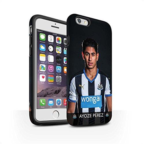 Officiel Newcastle United FC Coque / Matte Robuste Antichoc Etui pour Apple iPhone 6S / Shelvey Design / NUFC Joueur Football 15/16 Collection Ayoze