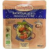 Babybio Sachet Ratatouille à la Provençale/Riz 190 g -