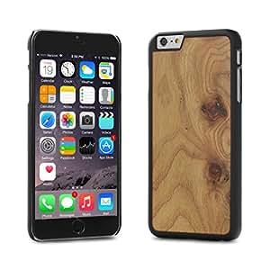 Cover-Up #WoodBack Real Wood Matt Black Case for iPhone 6 / 6s Plus - Carpathian Elm Burl