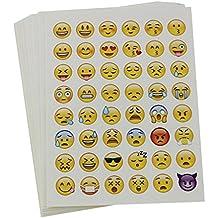 Veroda 20hojas cortada Emoji adhesivo para teléfono portátil Decor