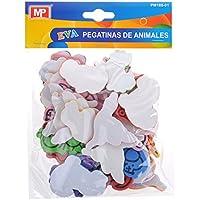MP PM188-01 - Pegatinas adhesivas de goma Eva con formas