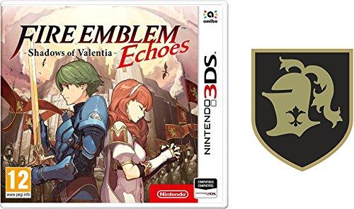 3DS Fire Emblem Echoes: Shadows of Valentia + Parches de tela