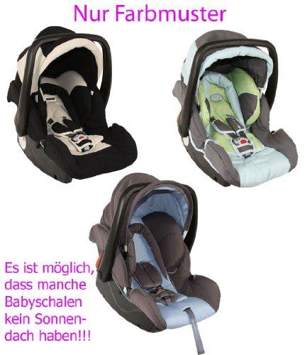 Babyschale Protect für Jungen von UNITED-KIDS, Farbe nach Zufall, Gruppe 0+, 0-13 kg
