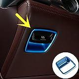 Intérieur Bleu Electronic Housse de frein à main Garniture