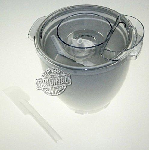 Accessorio per gelati e sorbetti originale kenwood per impastatrici planetarie kitchen machine chef sense xl