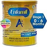 Enfamil A+ Stage 1: Infant Formula (0 to 6 months) 400gm