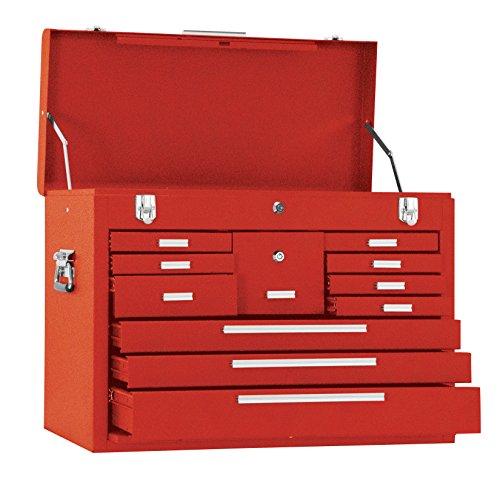 Kennedy Verarbeitung 3611r 66cm 11-drawer Maschinisten 'Brust, klassisch rot Kennedy Werkzeug-boxen