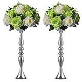 2 50 cm Höhe Metall Kerzenhalter Kerze ständer Hochzeit Mittelpunkt