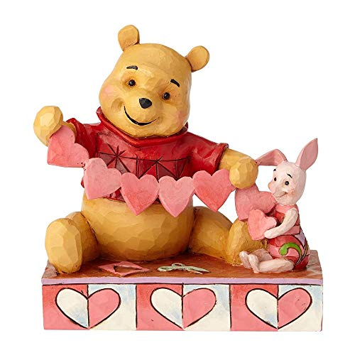 Disney Traditions Handmade Valentines - Pooh and Piglet Figur