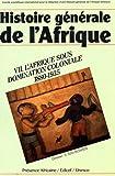 Histoire générale de l'Afrique, Volume VII - L'Afrique sous domination coloniale 1880-1935 (éd. poche)