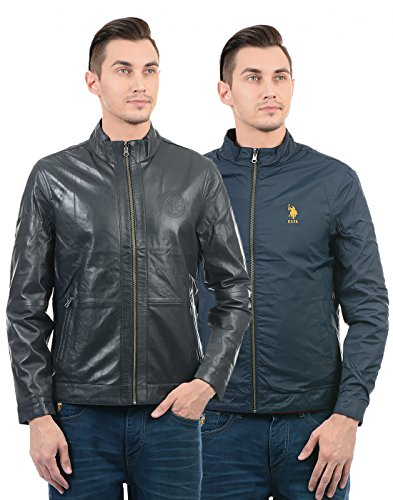 US Polo Men's Leather Jacket
