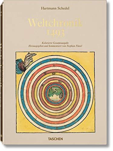 Schedel. Weltchronik - 1493. Kolorierte Gesamtausgabe
