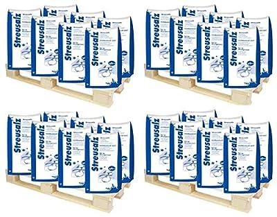 Hamann Streusalz 4200 kg (84 x 50 kg) - hoher Anteil tauwirksamer Substanzen - Deutsches Steinsalz 0-5mm
