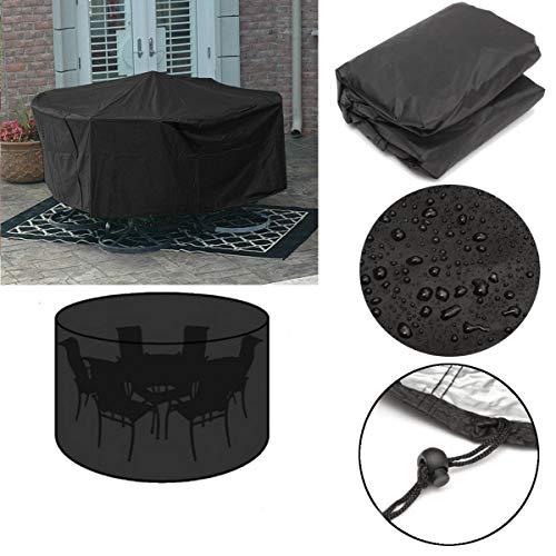Global Brands Online Garten-Patio-MöBel-Stapel-Stuhl-Abdeckung im Freien staubdichter Schutz 110x230cm -