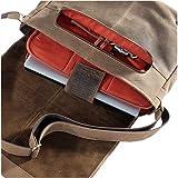 Shalimar Messenger-Bag aus Echtleder - 3