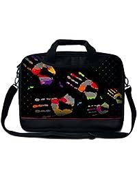 """Luxburg® 13"""" 15"""" 17"""" Sac à Bandoulière/ Business bag pour ordinateur portable avec poignée. Différentes motifs disponibles!"""