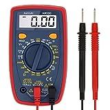 AstroAI Multimètre Numérique Portable, Mini Multimètre Digital, Testeur de Tension DC/Voltmètre /Résistance /Continuité /Diodes