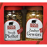 Block House Klassiker Gewürz-Set, 1er Pack (1 x 120 g)