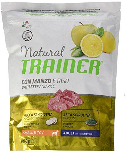Natural Trainer Trainer Natural Small Manzo Riso GR. 800 Cibo Eimer für Hunde, Mehrfarbig, Einheitsgröße -