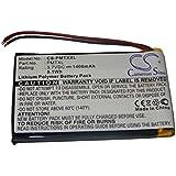 vhbw Li-Polymer Batería de 1400mAh (3.7V) para teléfono móvil Palm Tungsten TX y Tungsten TX.