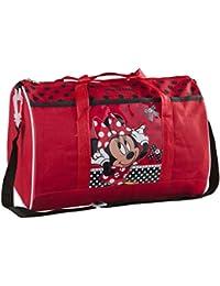 Disney - Disney Minnie Mouse - Bolsa de deporte infantil para Niñas - 35 x 22 cm
