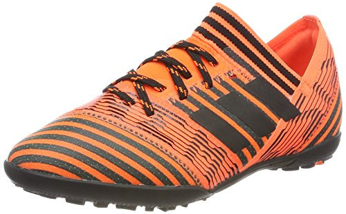 adidas Nemeziz Tango 17.3 TF J, Chaussures de Football Garçon Multicolore (Solar Orange/core Black/solar Orange)