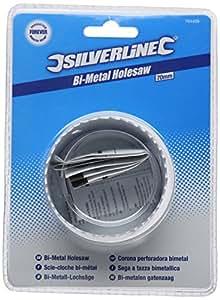 Silverline 704409 Bi-Metal Holesaw, 70 mm