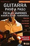 Image de Escalas Mayores - Guitarra Paso a Paso - con Videos HD: Sistema CAGED, Tríada - Pentatónica - Escala mayor