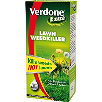 Verdone Extra 1L Liquid Concentrate Lawn Weed Killer