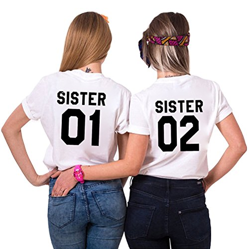 Couples Shop Freunde Passende Paar T-Shirt – Damen -