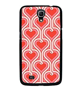 Fuson Designer Back Case Cover for Samsung Galaxy Mega 6.3 I9200 :: Samsung Galaxy Mega 6.3 Sgh-I527 (heart dil art designer design )