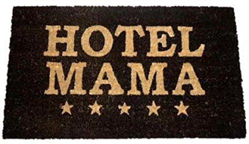 1art1 76150 Fun - Hotel Mama Fußmatte Türmatte 70 x 40 cm