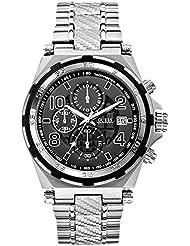 Guess Herren-Armbanduhr Analog Quarz Edelstahl W0243G1