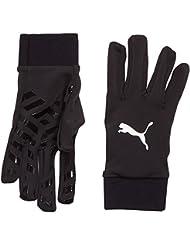 PUMA Spielerhandschuhe Field Player Gloves - Guantes de portero para fútbol, color negro, talla 10