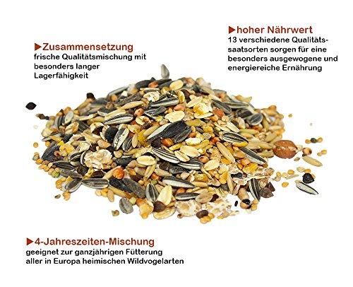 HomeGreen Wild Bird Food, with sunflower seeds 3900g 2